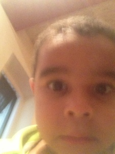 haha! ashur got ahold of my phone again! check out these faces!